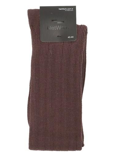 NetWork Çorap Kahve